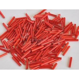 Sklenené tyčinky 15mm červené
