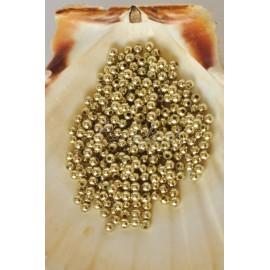 plastove perle 4mm zlaté