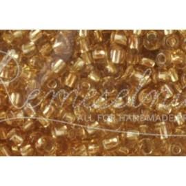 rokail velkosť 1,7mm priesvitná zlatá