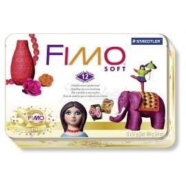 FIMO Soft sada kovový box RETRO