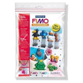 """FIMO silikonová forma """"Funny animals"""""""