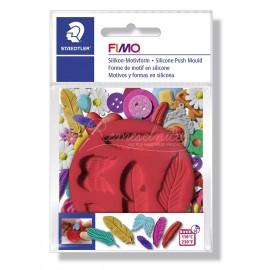 FIMO silikonová vytláčacia forma - Pierka