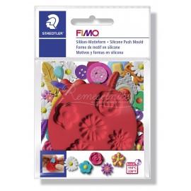 FIMO silikonová vytláčacia forma - Kvety