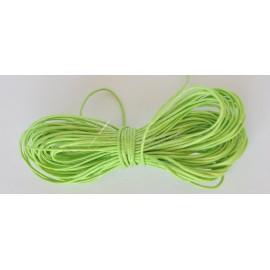 voskovaná šnúrka 1mm zelená