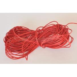voskovaná šnúrka 1mm červená