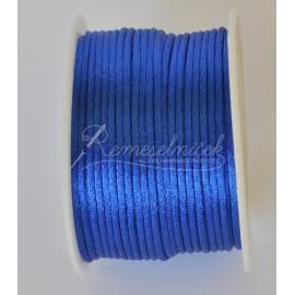 saténová šnúrka 2mm modrá