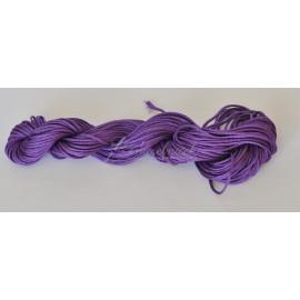 nylonová šnúrka 1mm bledo fialová