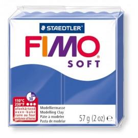 FIMO soft tmavo modrá 57g