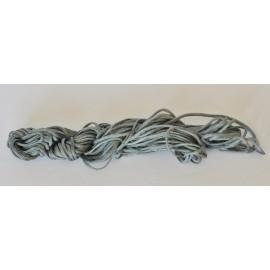nylonová šnúrka 2mm šedá