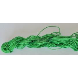 nylonová šnúrka 2mm zelená