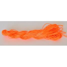 nylonová šnúrka 2mm oranžová neonová