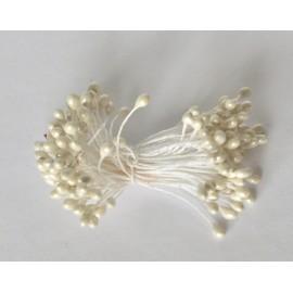 tycinky do kvetín biele