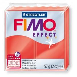 FIMO efekt červená 57g