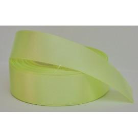 satenová stuha 25mm zelená neonová