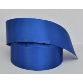satenová stuha 38mm modrá