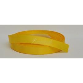 saténová stuha 12mm žltá, návin 27 metrov