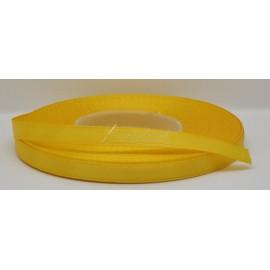 saténová stuha 6mm žltá, návin 27 metrov