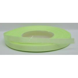 saténová stuha 6mm zelená neonová
