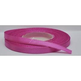 saténová stuha 6mm rúžová, návin 27 metrov
