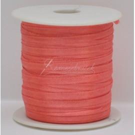 satenová stuha 3mm staro rúžová, cena za 5metrov