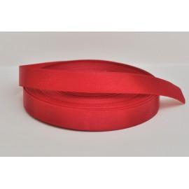 saténová stuha tmavá červená 12mm