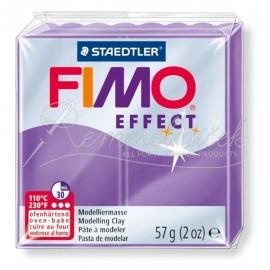 FIMO efekt transparentná fialová 57g