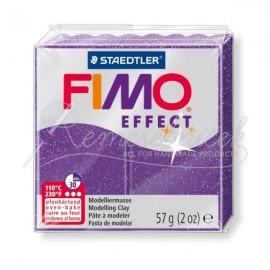 FIMO efekt fialová s trblietkami 57g