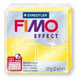 FIMO efekt transparentná žltá 57g