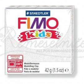 FIMO kids biela s trblietkami 42g