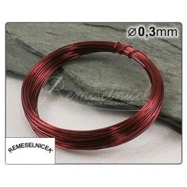 bordový drôt 0,3mm/5m