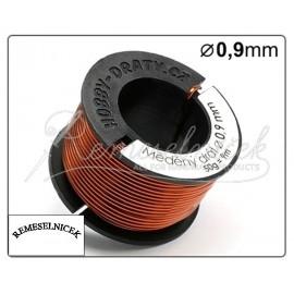 medený drôt 0,9mm/50g