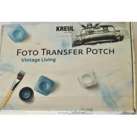 Sada Foto Transfer Potch Vintage Klasika