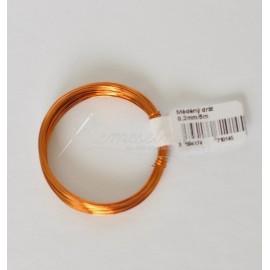 medený drôt 0,3mm / 5metrov