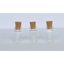 skelnená flaštička 11x22 mm, cena za 3 ks