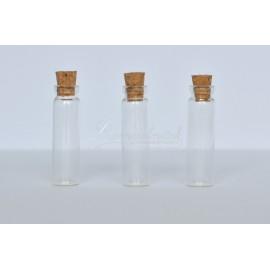 skelnená flaštička 40x10mm, cena za 3 ks
