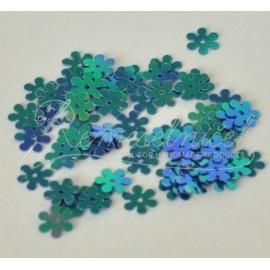 flitre kvet farba strieborno modrá