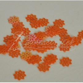 flitre kvet farba oranžová