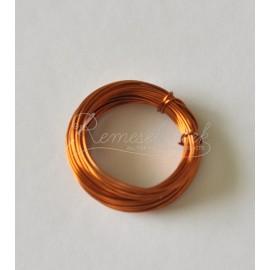 medený drôt 0,7mm /5metrov