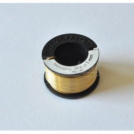 mosadzný drôt 1mm/50g