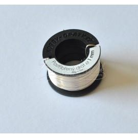 Postriebrený drôt 1mm/50g
