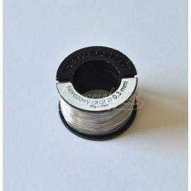 nerezovy drôt 0,3mm, 50g