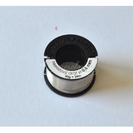 nerezovy drôt 0,6mm/50g