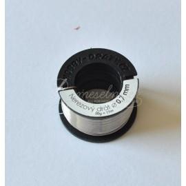 nerezovy drôt 0,7mm/50g