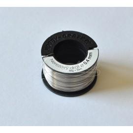 nerezovy drôt 0,4mm/50g