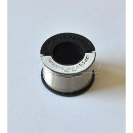 nerezovy drôt 0,5mm/50g - cca 35m
