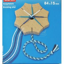pomôcka na pletenie šnúrok