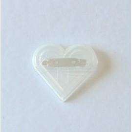 plastivy odznak srdce 45mm