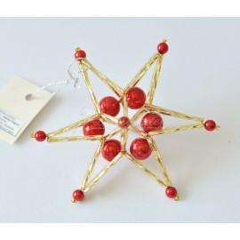 hviezda 3D 10,5 cm