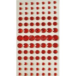samolepiace kryštaliky rôzne velkosti 6 - 12 mm