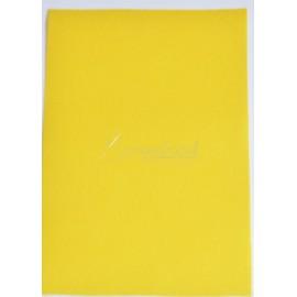 filc hrúbka 1mm, format A4 - žltý - 1ks